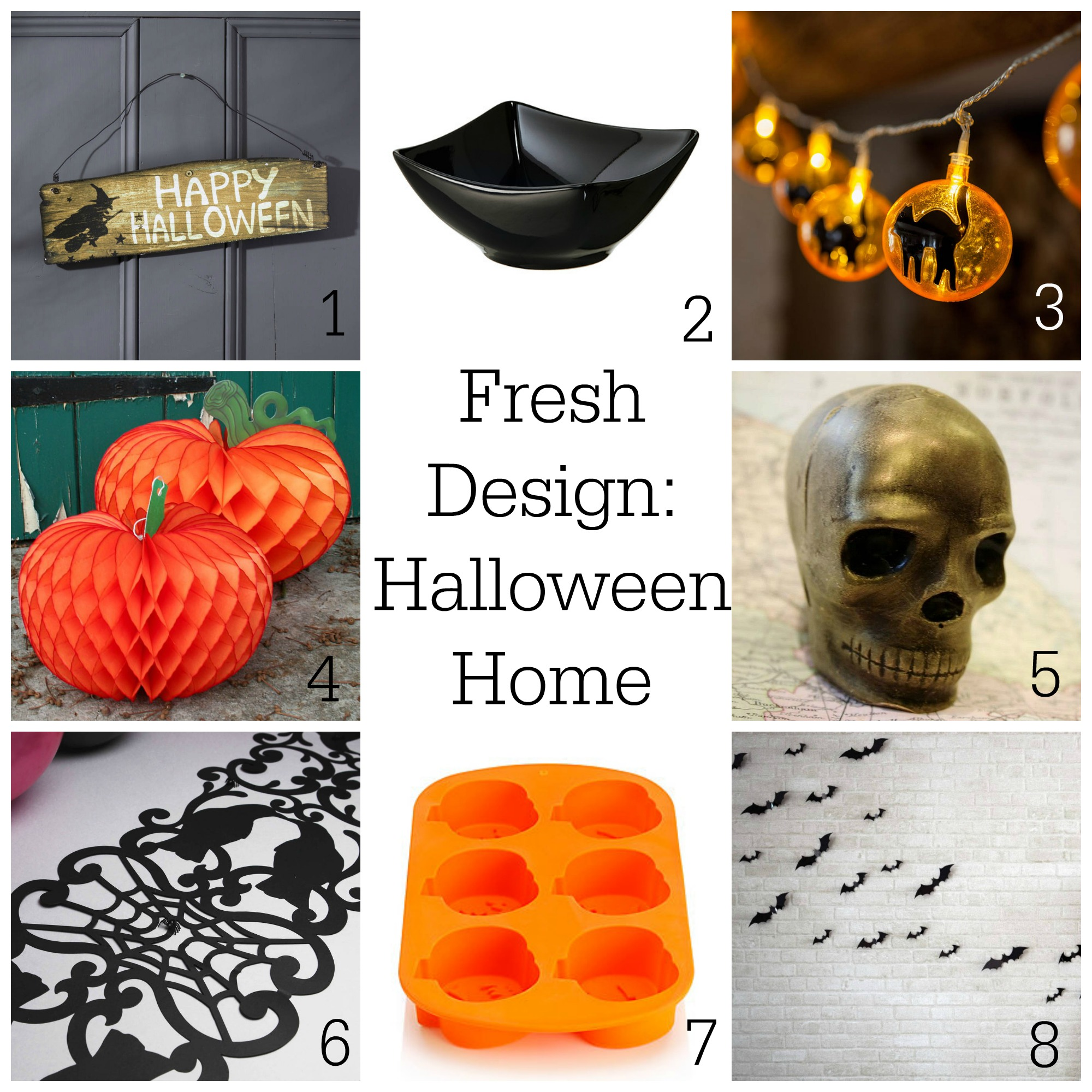 Halloween home decor ideas ~ Fresh Design Blog