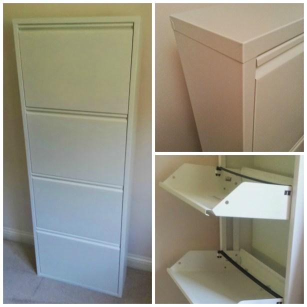 Fresh Design blog review of Dwell modern shoe storage cupboard