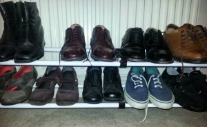 Fresh design old unexciting shoe rack storage