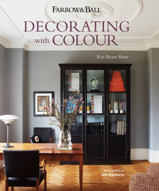 Fresh design coffee table book by Farrow and Ball