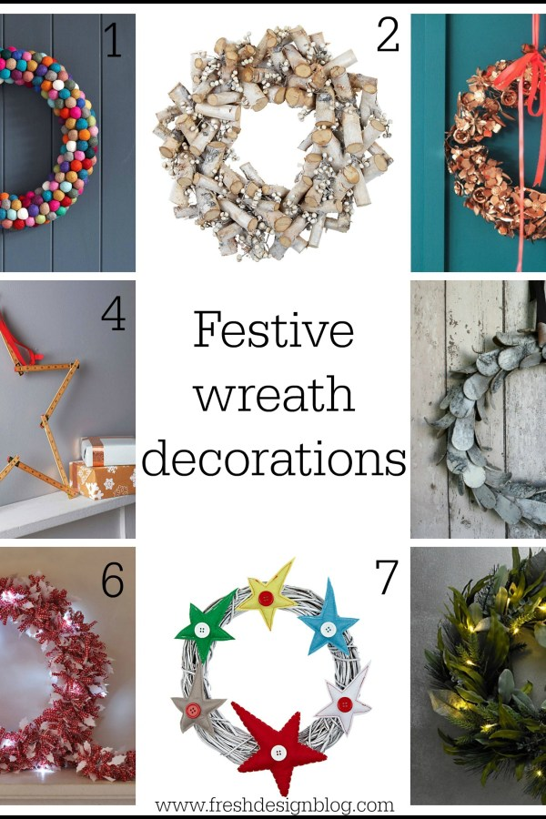 Festive Christmas wreath decorations for your home