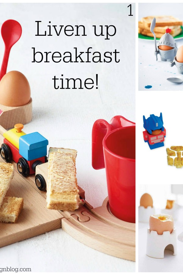 Liven up breakfast time with these imaginatively designed products