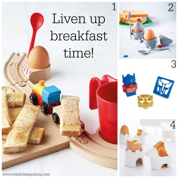 Liven up breakfast time with these ideas from Fresh Design Blog