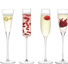 Lulu cocktail glass set, LSA International