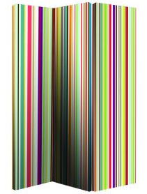 Bright stripe room divider from Arthouse