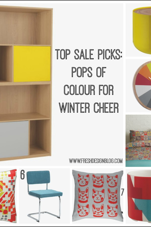 Fab Friday Bargains: Colourful furniture and accessories from Habitat