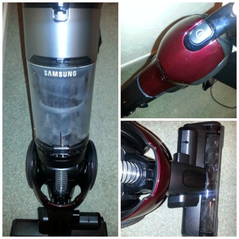 Top product features of the Samsung VU7000 vacuum cleaner