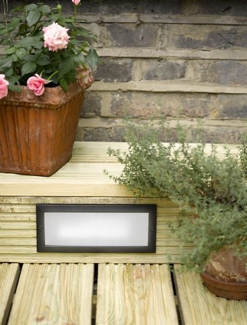 How to incorporate lights into decking