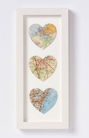Five ways with: vintage and retro maps