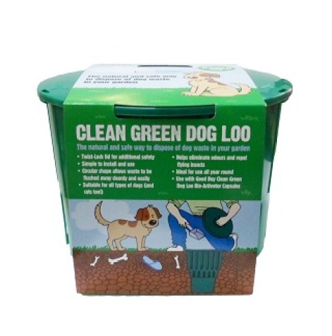 The Clean Green Dog Loo from Armitage Pet Care, reviewed by Fresh Design Blog