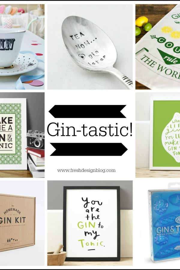 Friday tipple: Gin-tastic homeware and drinks