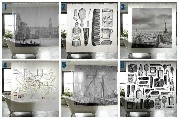 Shower curtains bathroom accessories for men
