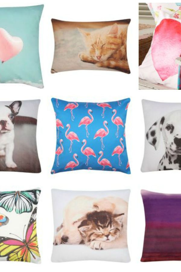 Creature comforts: Bargain cushions for 10 pounds or less
