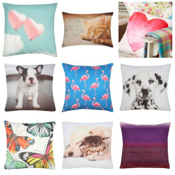 Contemporary design cushions from M&Co