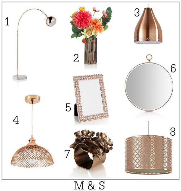 Affordable ways to embrace the copper trend