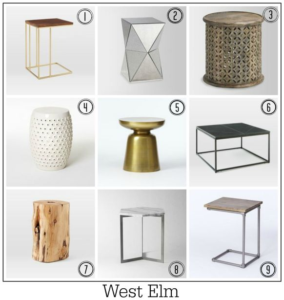 Top 100 side tables by Fresh Design Blog