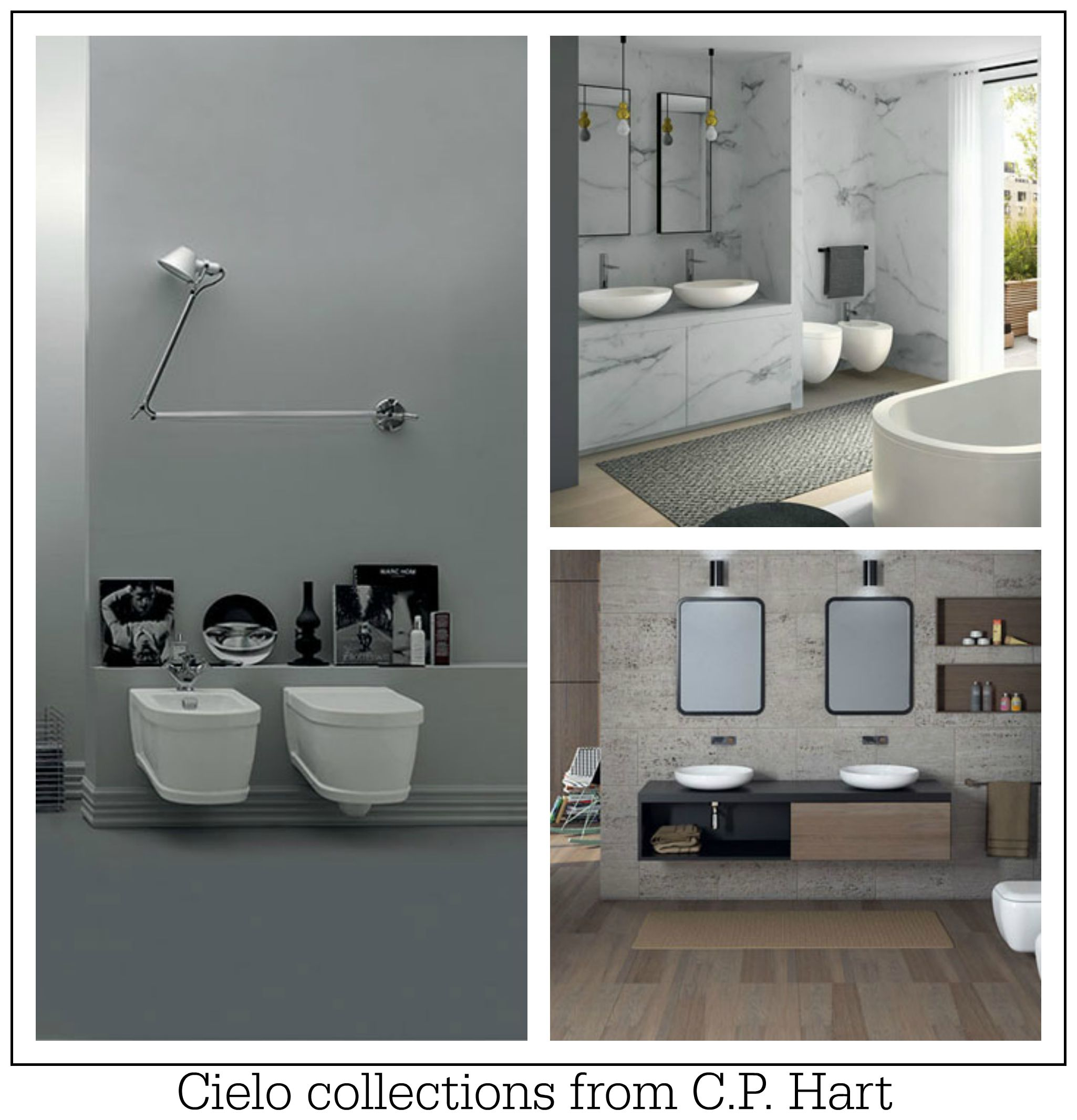 New Bathroom Designs: Stunning New Bathroom Collections From C.P. Hart