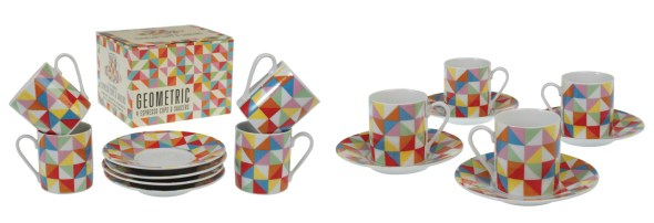 Geometric homeware trend fresh design