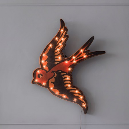 Fresh Design Finds: Vintage tattoo style wall lights