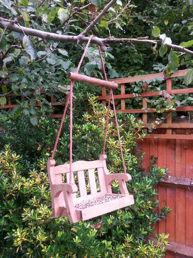 Feed the birds: Swing seat bird feeder from The Orchard ~ Fresh ...