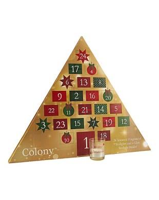 Wax Lyrical Colony Christmas countdown advent calendar