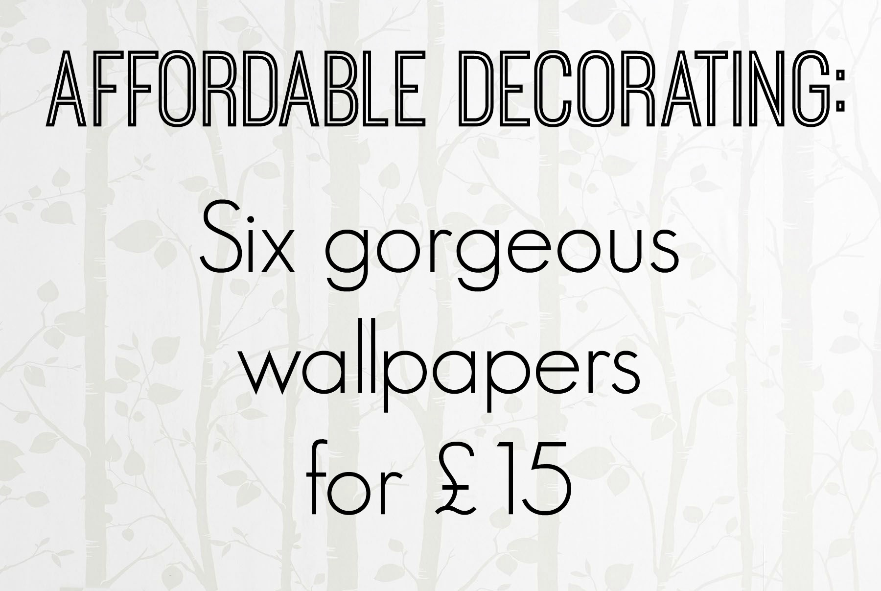 affordable and stylish wallpaper from next fresh design blog