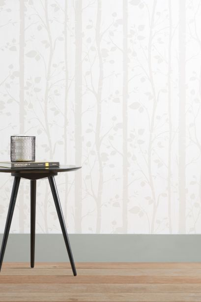 Gorgeous natural trees wallpaper from Next. An affordable paper with a soothing design.