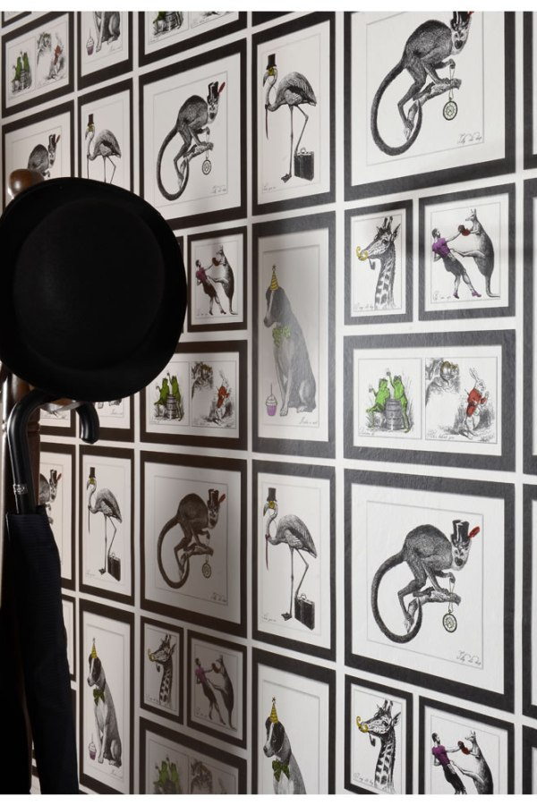 Funky and affordable contemporary wallpaper from Wilko
