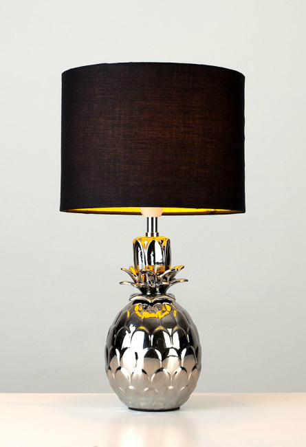iconic lighting product love how this lamp creates golden glow on the pineapple base when its turned stylish and affordable design from iconic lights