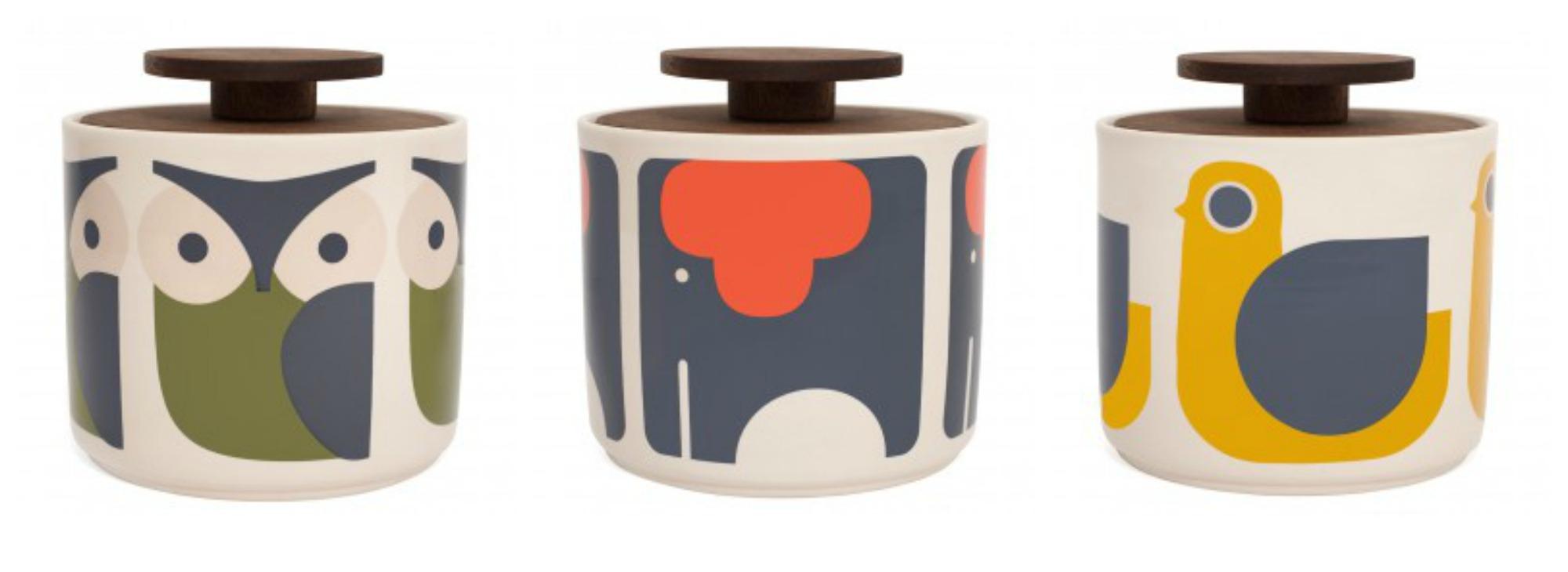 Orla Kiely Retro And Whimsical Animal Design Homeware Fresh Design