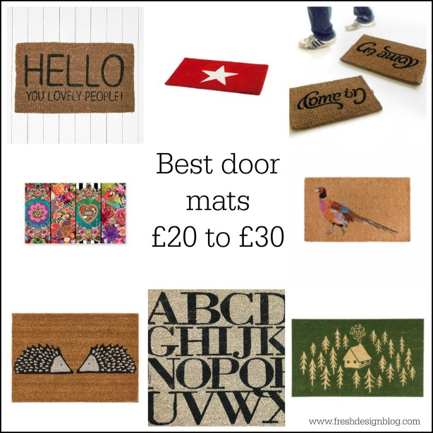Top class door mats - stylish, designer and colourful