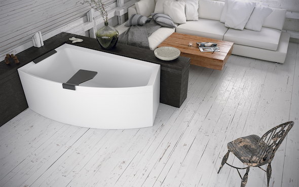 Doesn't this bath look luxurious? Oh to relax and unwind in this!