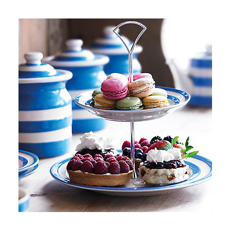 British design classics: Blue and white striped Cornishware