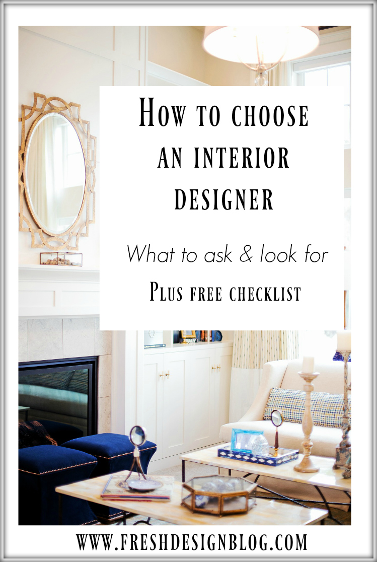 How to choose an interior designer for your home decorating project fresh design blog Could i be an interior designer quiz