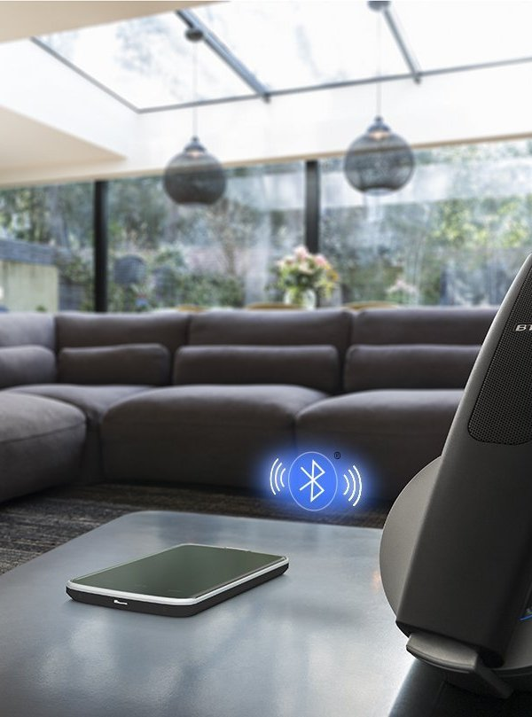 Stylish and practical home tech: BT Halo bluetooth phone