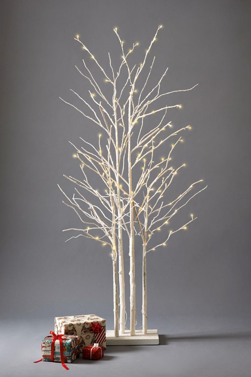 Twig trees: 3 stunning birch cluster Christmas trees