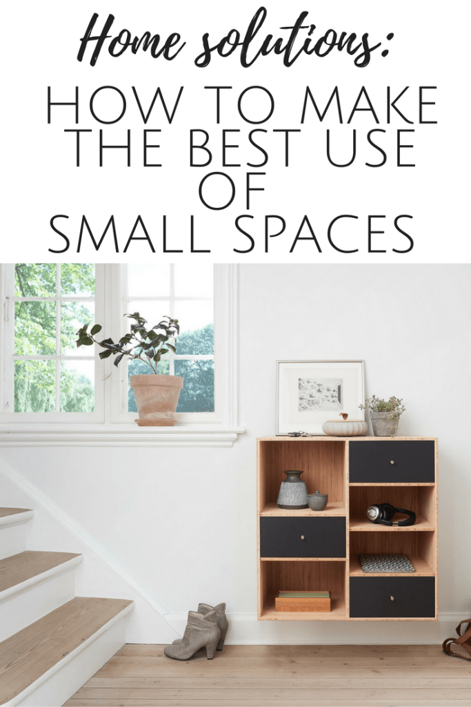 How to make the best use of small storage spaces in your home