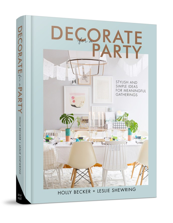 Looking for ideas for decorating for a party? This fab book is full of inspiration for colour schemes and easy creations