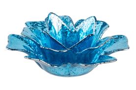 blue-glass-flower-turquoise-tea-light-holder
