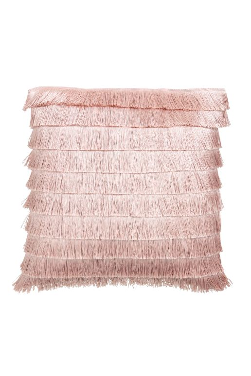 Jump on the fringe trend with these fringed cushion covers