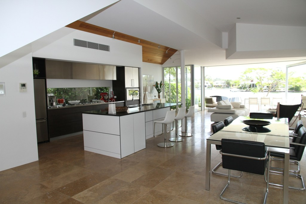 A kitchen extension and bi-fold doors allow you to open up the space and bring the outside in