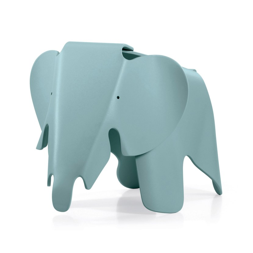 A classic Vitra design by Ray and Charles Eames, the elephant is ideal for children's rooms
