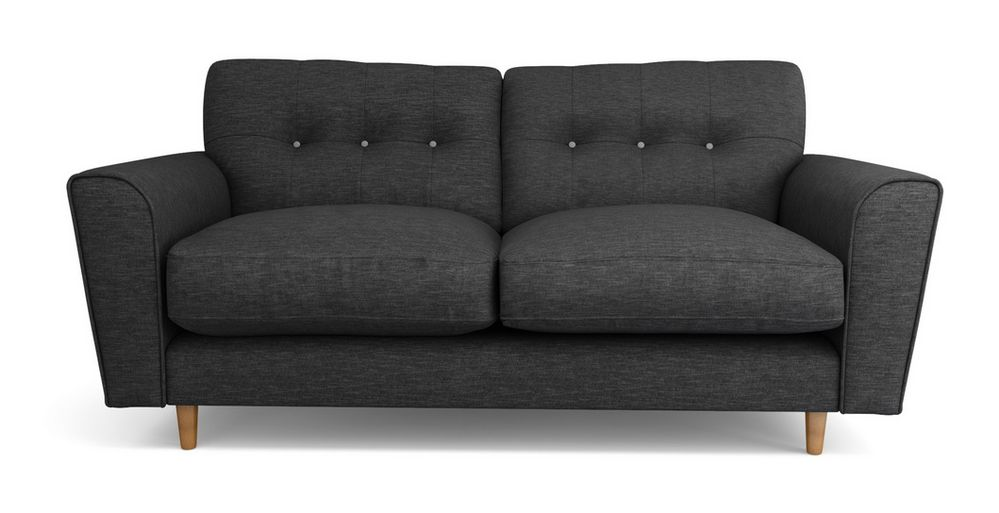 Arden sofa in a practical and stylish charcoal fabric