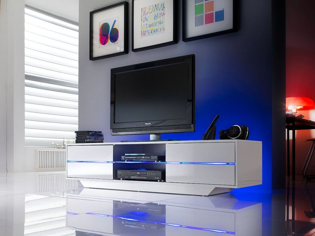 Sienna top contemporary TV stand for a modern home