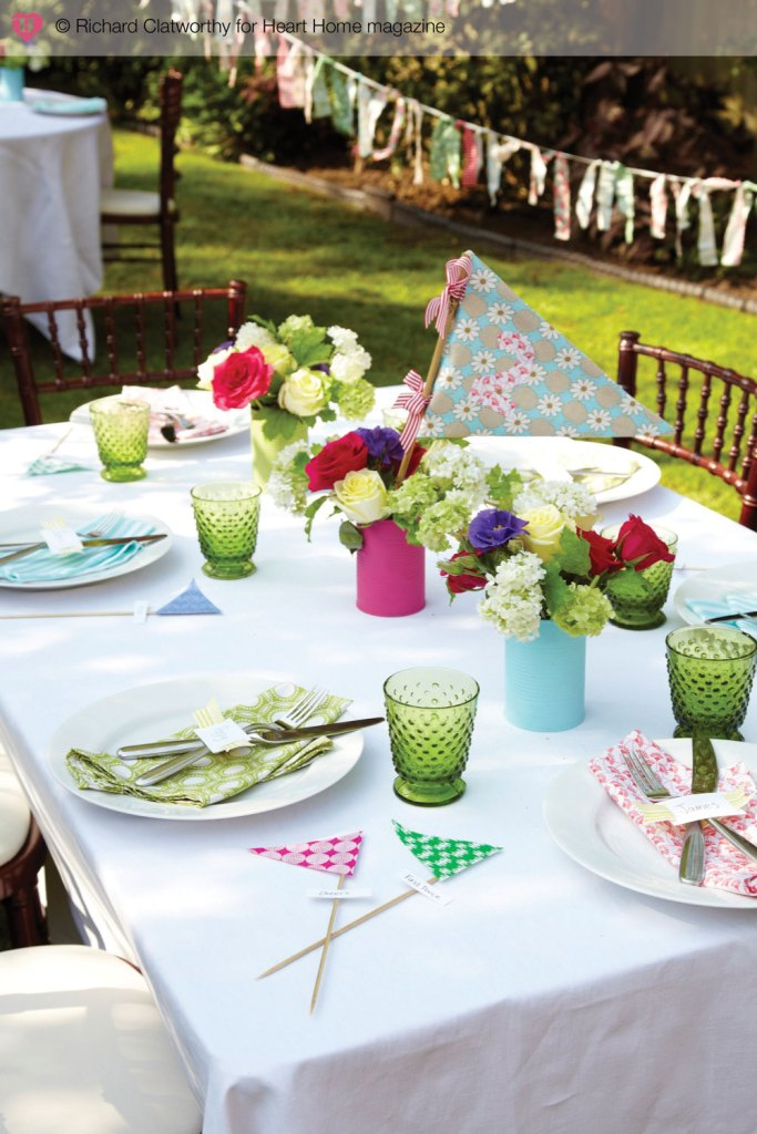 Essential elements of an outdoor garden party ~ Fresh ...