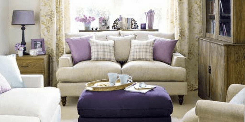 How to use shades of lilac and purple in your interior decorating