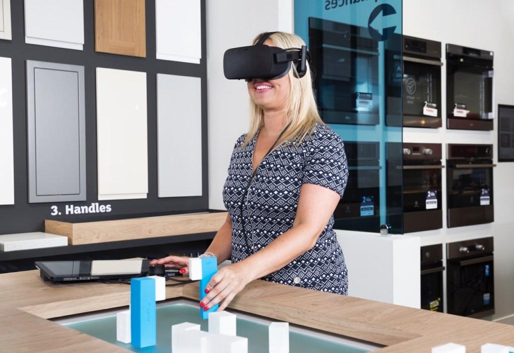 Kitchen design goes techno - 3D virtual kitchen modeller from the Magnet Sutton showroom