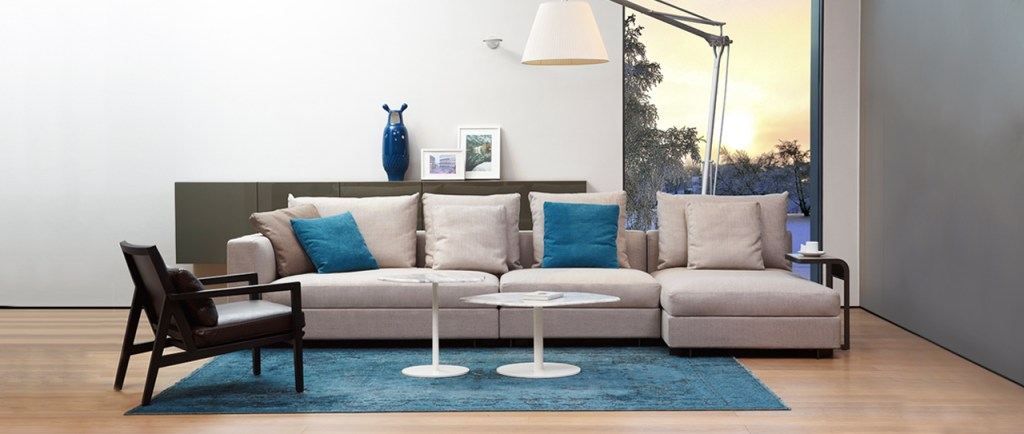 Relax one the clouds - a contemporary sofa from Camerich