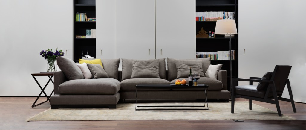 Relax and unwind on a Lazytime sofa from Camerich
