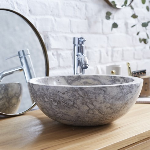 Love This Chic And Minimalist 100 Natural Marble Stone Washbasi